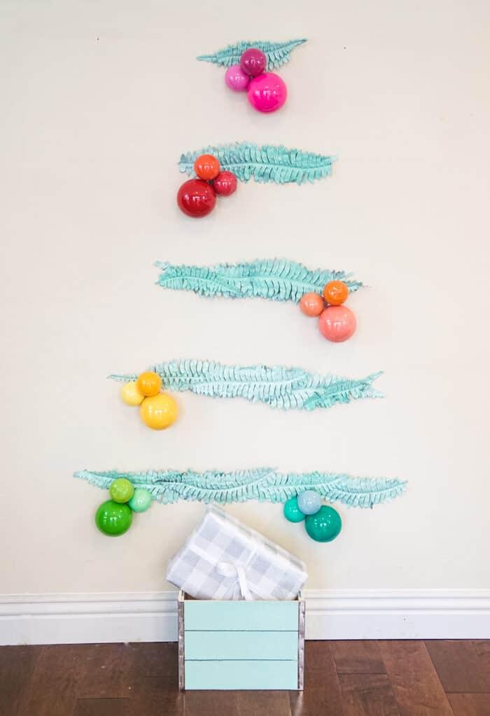 Colorful Modern Christmas tree.