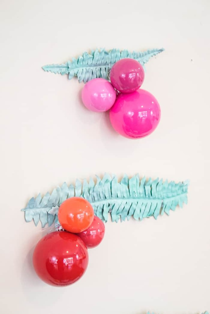 Bright colored Ornaments