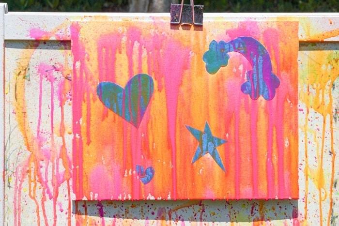 Kids Activities for Summer. Water gun painting. Looking for Summer activities for the kids? The kids LOVE water gun painting throughout the Summer.