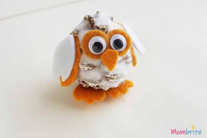 Snowy Pinecone Owls