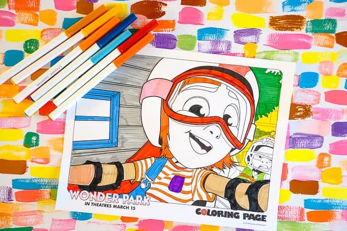Movie Coloring Pages. Wonder Park Movie Coloring Pages. Fun printable and coloring pages for the Wonder Park movie. Family fun with the Wonder Park movie