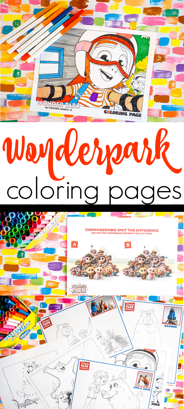 Wonder Park Movie Coloring Pages. Fun printable and coloring pages for the Wonder Park movie. Family fun with the Wonder Park movie