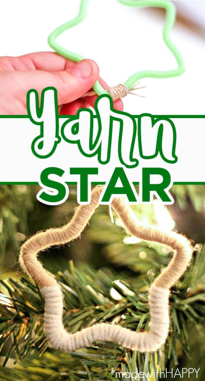 Yarn Star Ornament