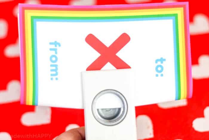 How to assemble an XOX Yo-Yo-Valentines. Non-Candy Kids Valentines Ideas