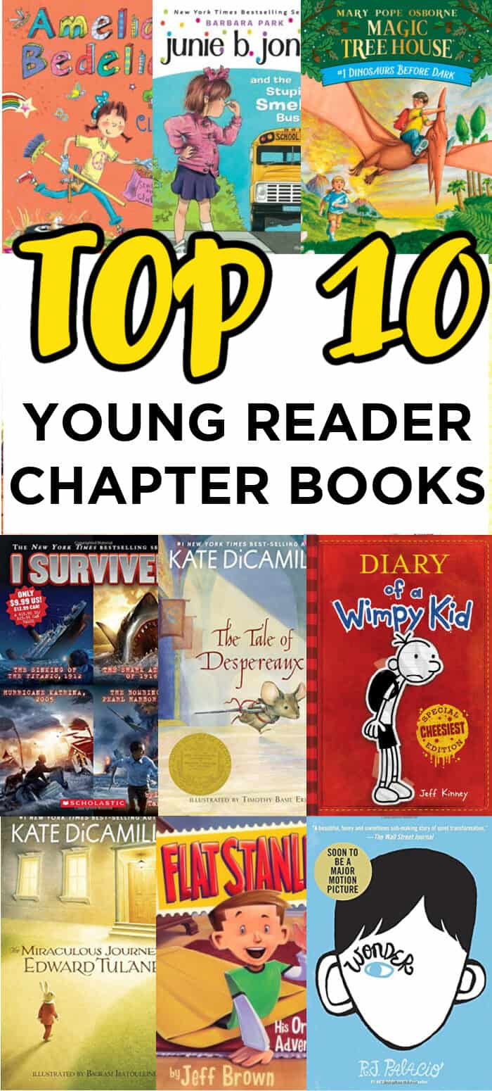 Top 10 Chapter Books for Younger Reader