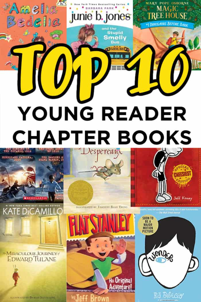 Top 10 Younger Reader Chapter Books