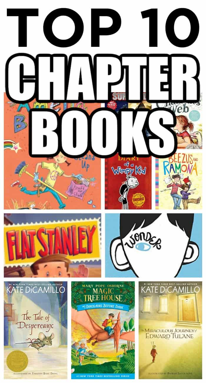 top 10 chapter books