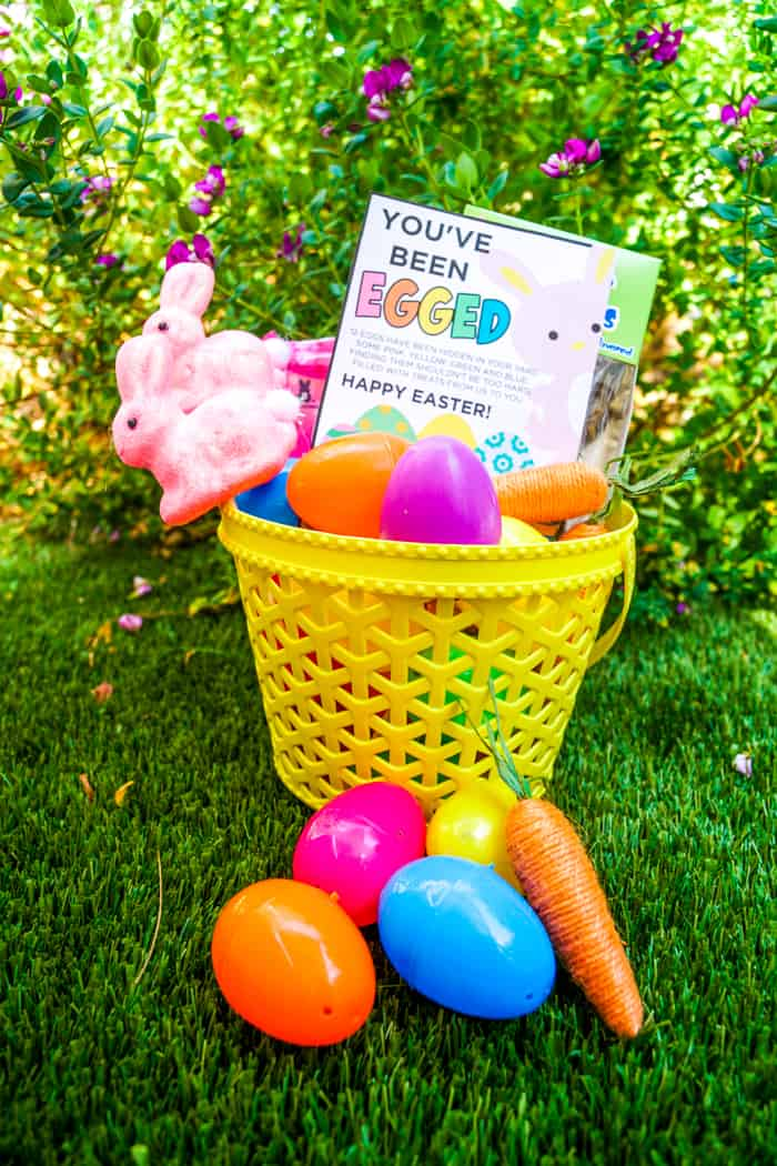 You've been booed Easter