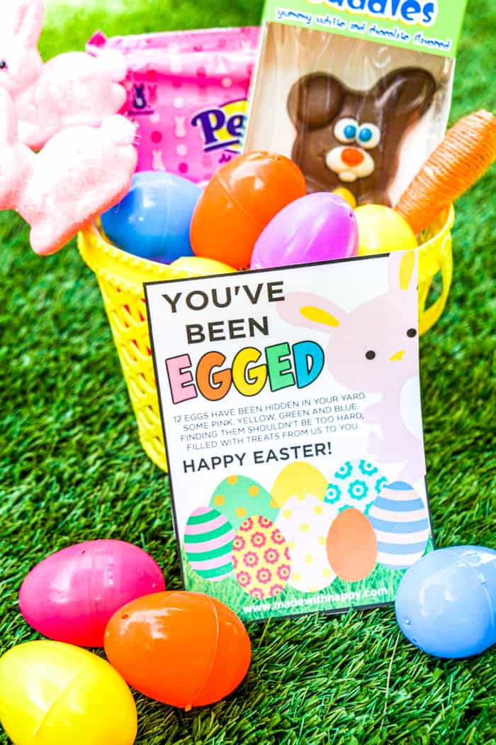 you ve been egged easter