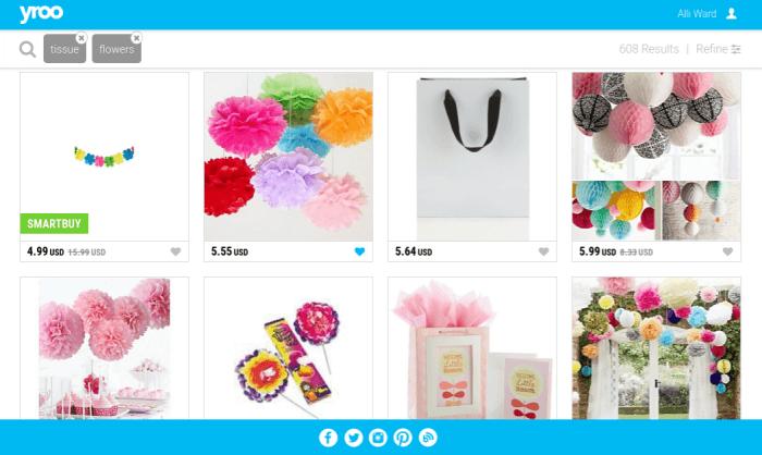 Yroo-tissue-flowers