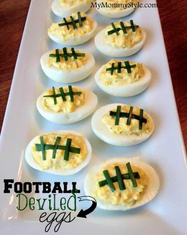Easy Super Bowl Appetizers - Deviled Eggs