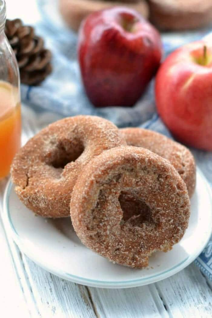Apple Cider Donuts | Four Fall Doughnuts | Breakfast Donuts perfect for Fall | The Handmade Hangout