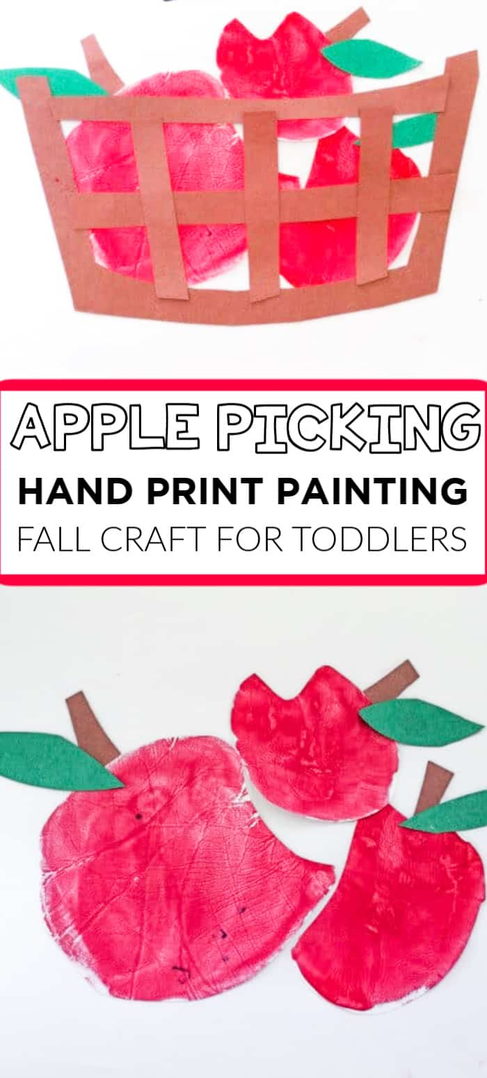 APPLE Hand print painting