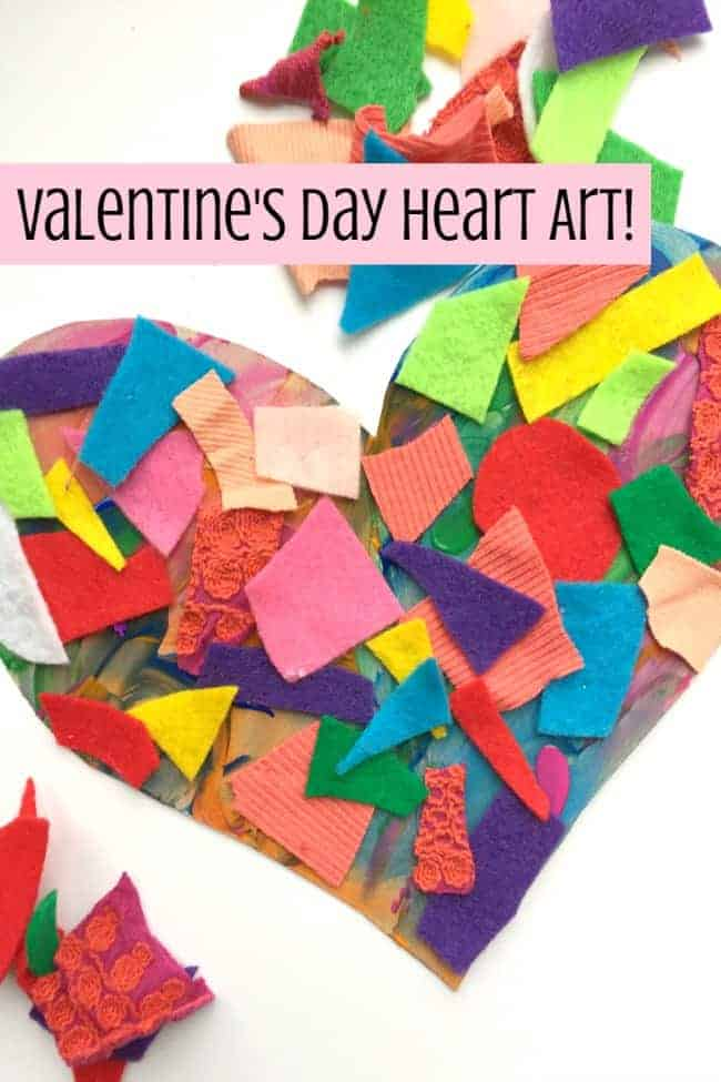 Art Heart Collage
