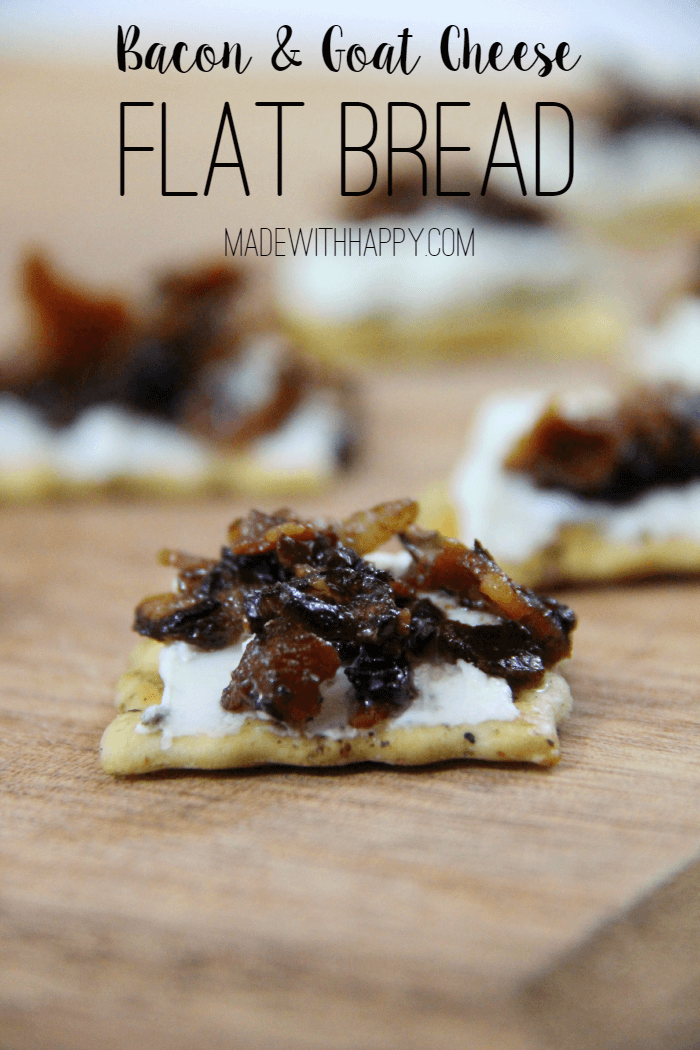 Bacon and Herbed Goat Cheese Appetizer Recipe