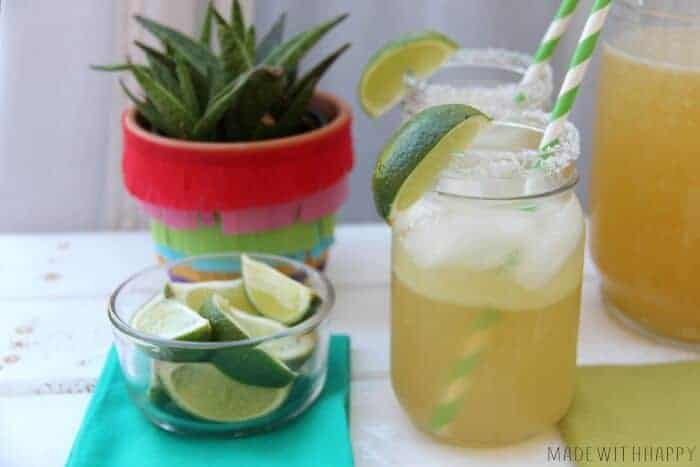 3 Ingredients Margaritas | Best Margaritas | Simple Margaritas | www.madewithHAPPY.com