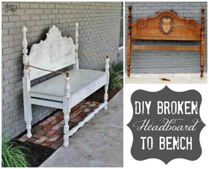 4 Fabulous DIY Furniture Makeover | The Handmade Hangout | Link Party | www.madewithHAPPY.com