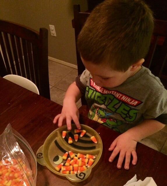 candy corn counting