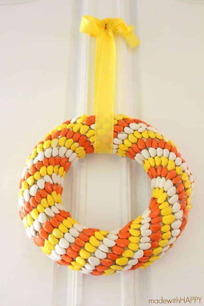 Candy Corn Christmas Crafts