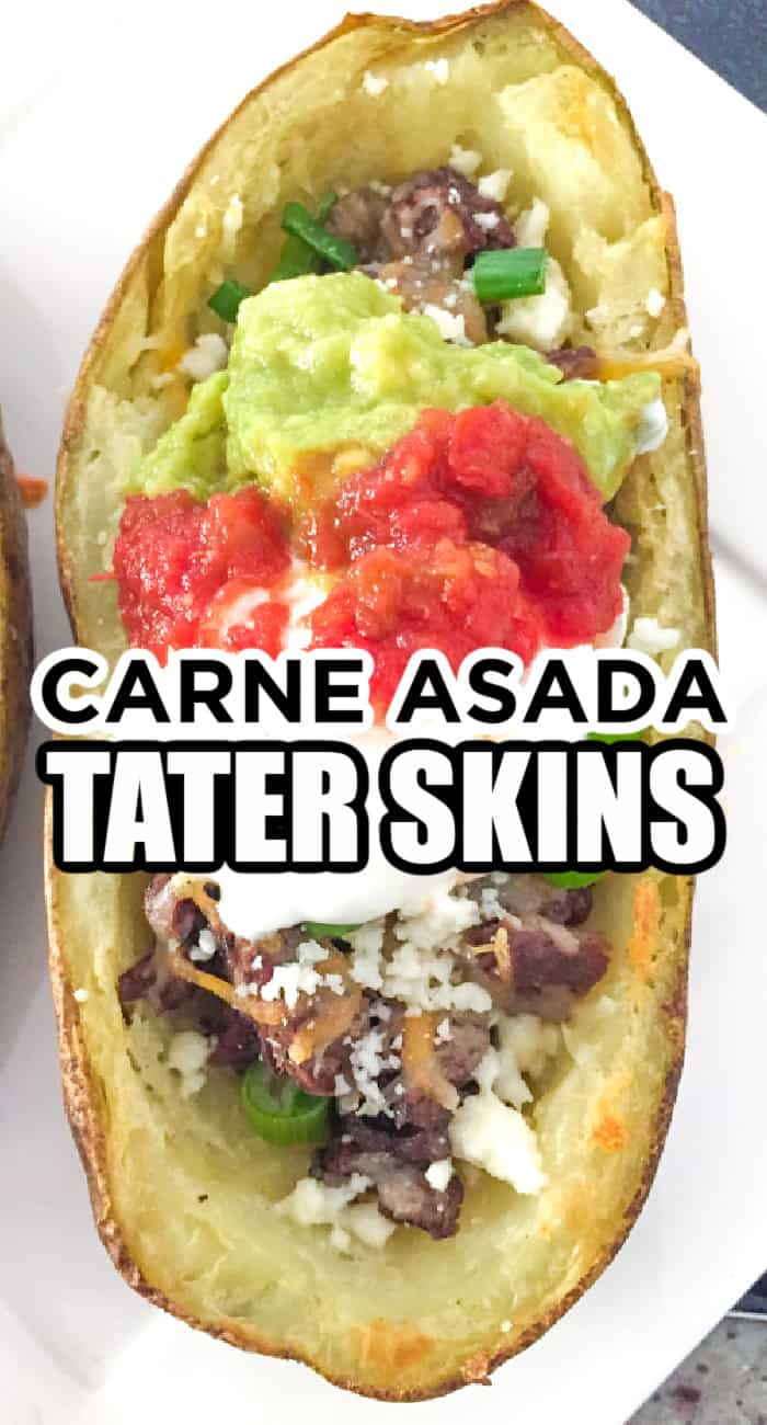 Carne Asada Tater Skins