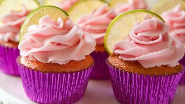 Strawberry Margarita Cupcake | 10 Must Have Cupcakes Recipes for Summer | Summer Cupcakes