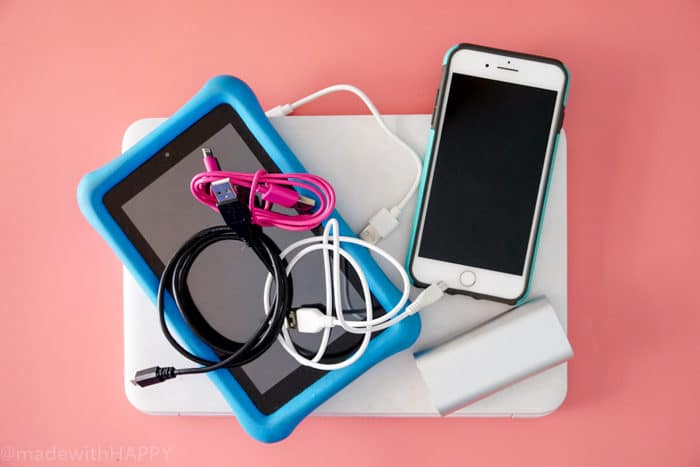 Organizing all your home cord. DIY Charging Station. Make your own Charging Station just in time for back to school. DIY Phone Charging Station. How to make a charging station.