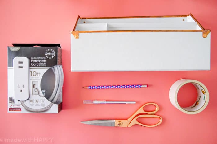 Phone Charging Organizer. DIY Charging Station. Make your own Charging Station just in time for back to school. DIY Phone Charging Station. How to make a charging station.
