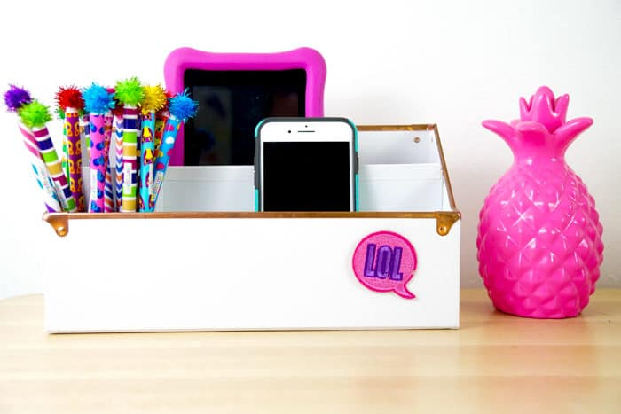 Make your own phone charger. DIY Charging Station. Make your own Charging Station just in time for back to school. DIY Phone Charging Station. How to make a charging station.