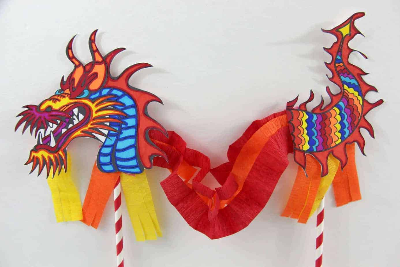 Chinese Dragon Puppet Made With Happy