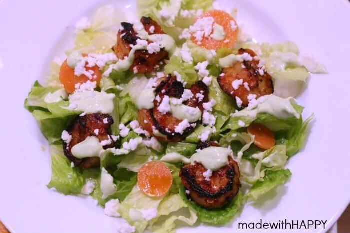 Chipotle Shrimp Salad