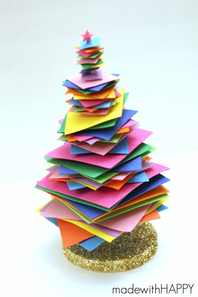colorful-foam-christmas-tree