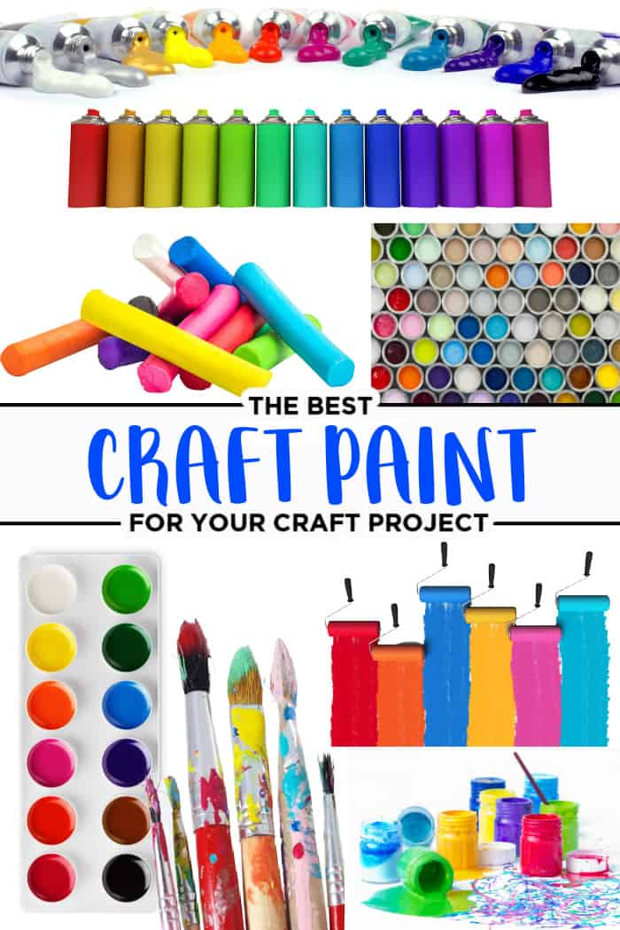 different types of craft paint