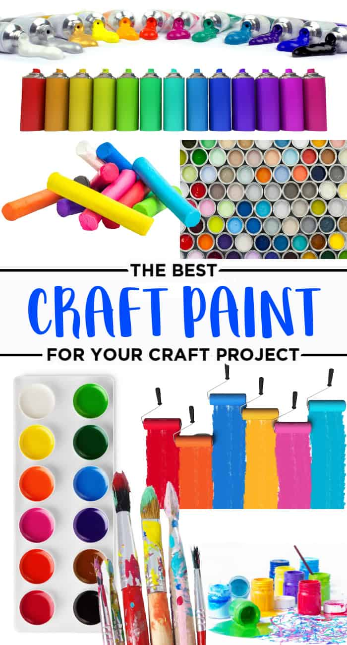 types of craft paint