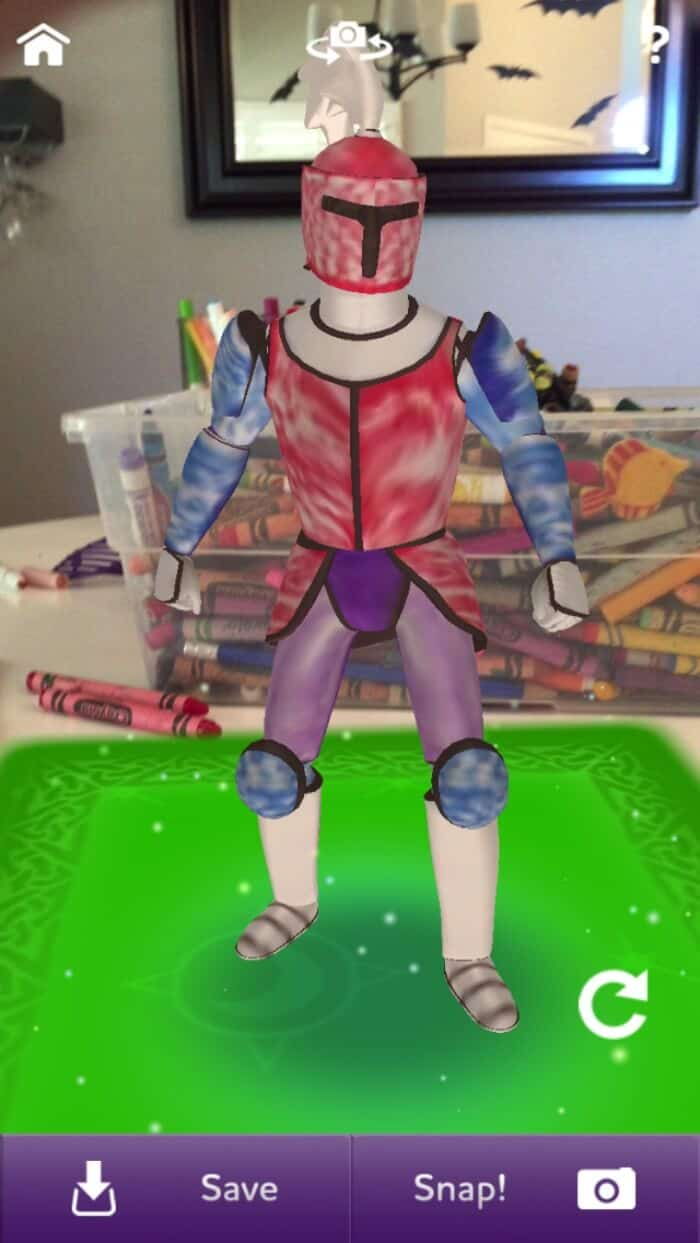 Crayola Color Alive | Coolest new technology that brings your kids coloring pages to life | www.madewithHAPPY.com