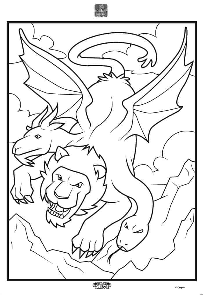 dragons coloring pages crayola - photo#19