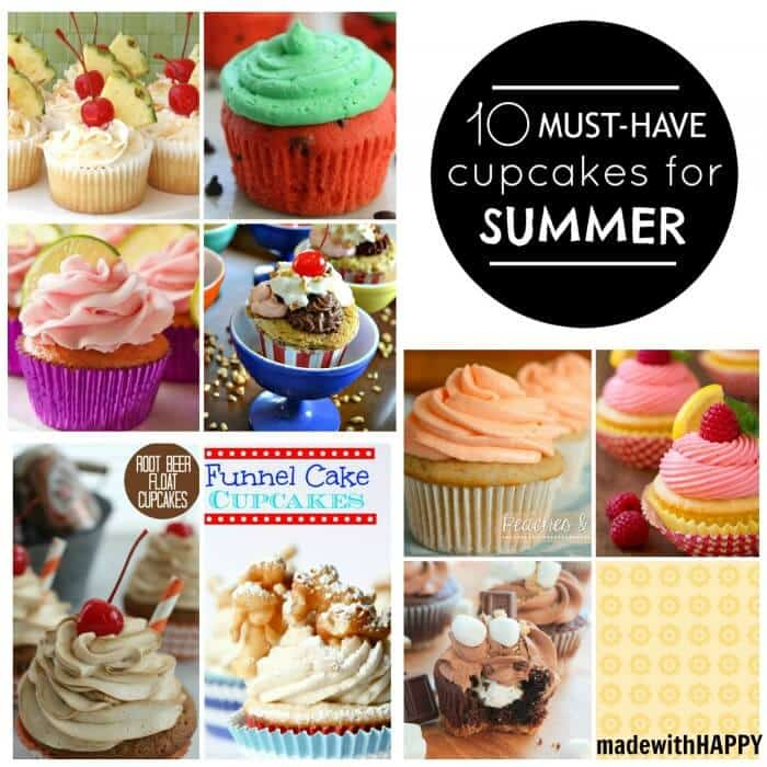 Summer Cupcakes for your Summer Parties