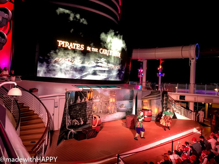 Pirates of the Caribbean Night. What is really like on a Disney WDW Cruise. Answering questions about Disney Cruise and the Disney Dream. What to expect on a Disney Cruise. The Disney Cruise as a family of four!