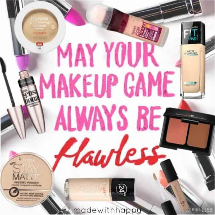 Top 8 Drugstore Finds | Beauty Products for less | Favorite Makeup | www.madewithHAPPY.com