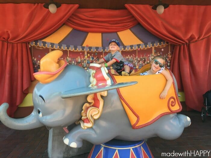 Dumbo Ride   Made with HAPPY goes to the happiest place on earth!
