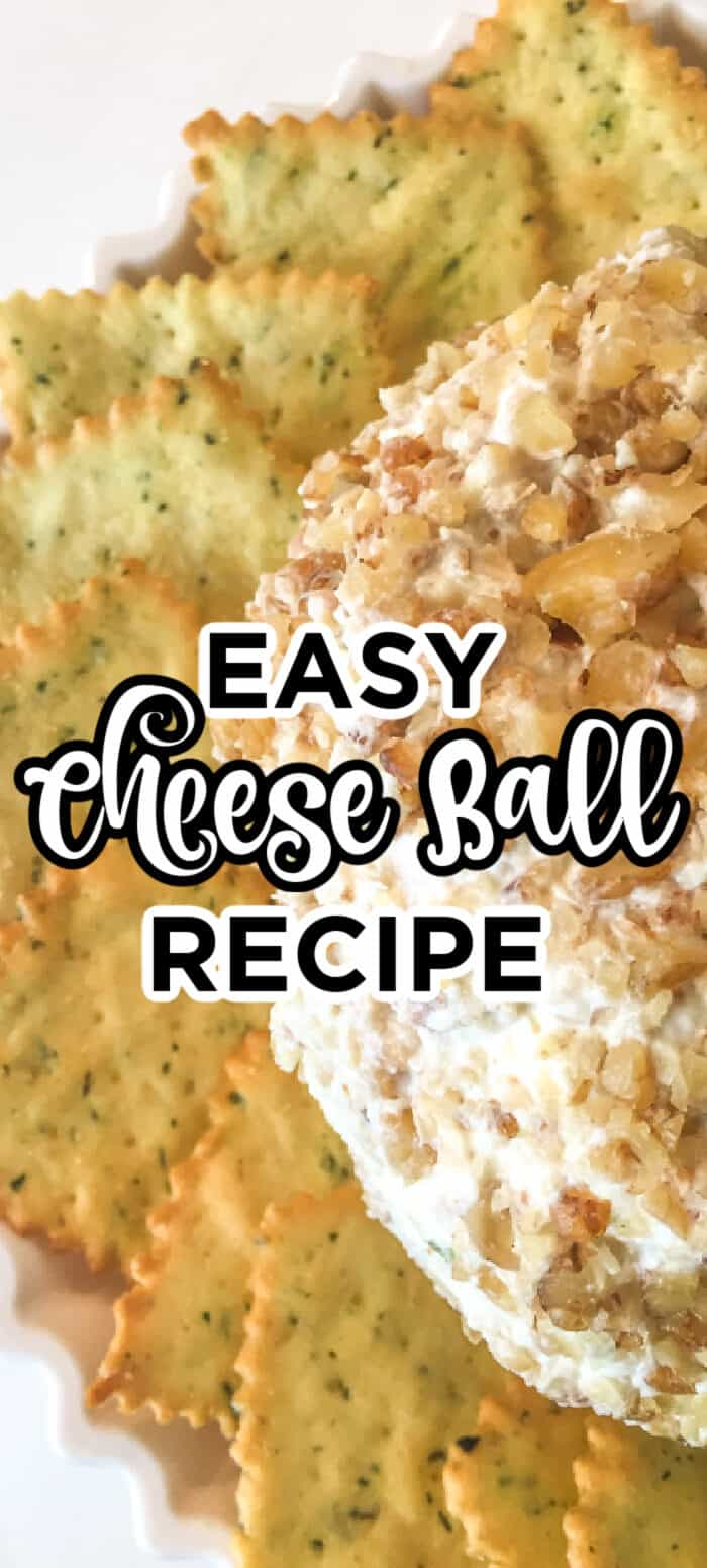 homemade cheese ball recipe