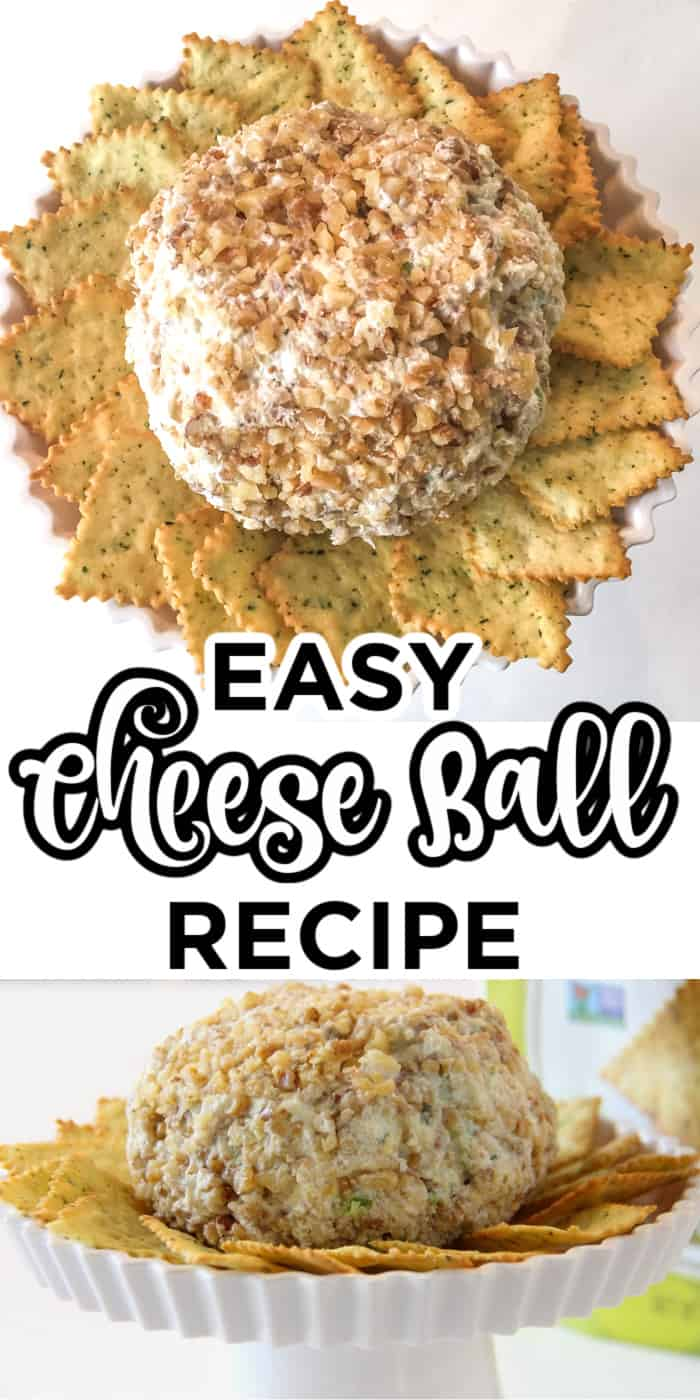 how to make a cheese ball from scratch