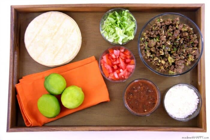 The Best Taco Recipe | Family Taco Night | Top Tips for Cooking on a Budget | Make your grocery dollar stretch | www.madewithHAPPY.com | #TODAYFoodClub AD