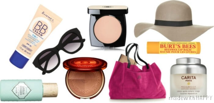 10 Summer Essentials. Your must have makeup essentials for the Summer! Before you head to the beach, make sure these items are with you!