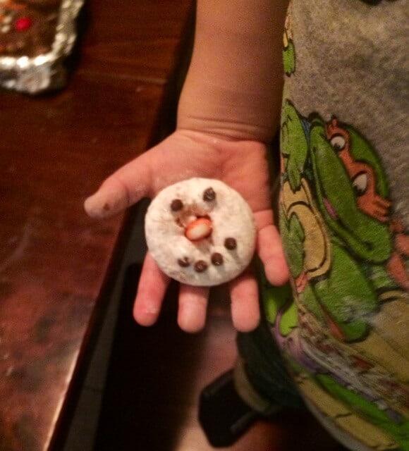final snowman