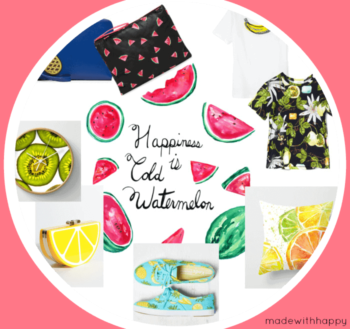 Fruit Prints | Home, Accessories, Decor | www.madewithHAPPY.com