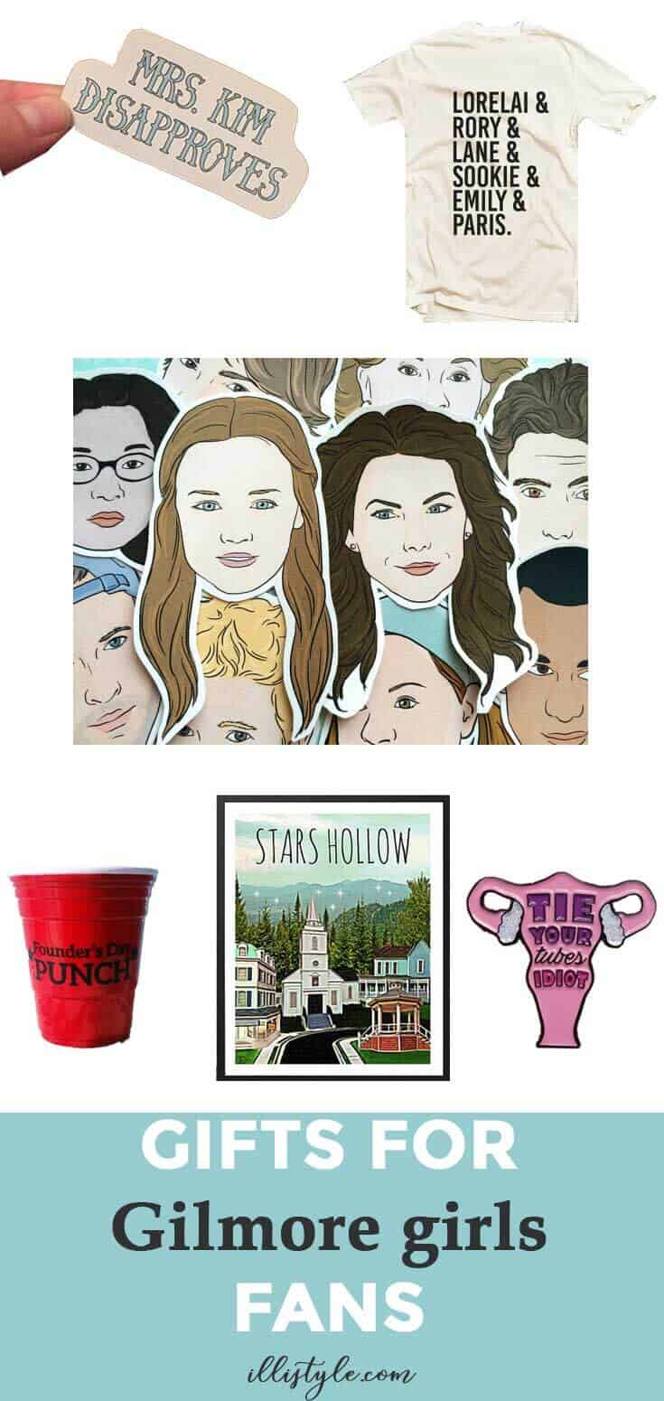 Team Logan T-shirts | Gilmore Girls Miss Patty's Founders Day Punch | Gilmore Girls Dessert Sushi | Gilmore Girls Party | Read like Rory Shirts | Pop Tart Recipes | Sookie's Blueberry Shortcake | Gilmore Girls Drinking Game | Candy Sushi | Rice crispy treat dessert ideas | www.madewithhappy.com