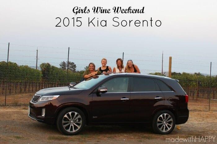 Girls Wine Weekend - 2015 Kia Sorento