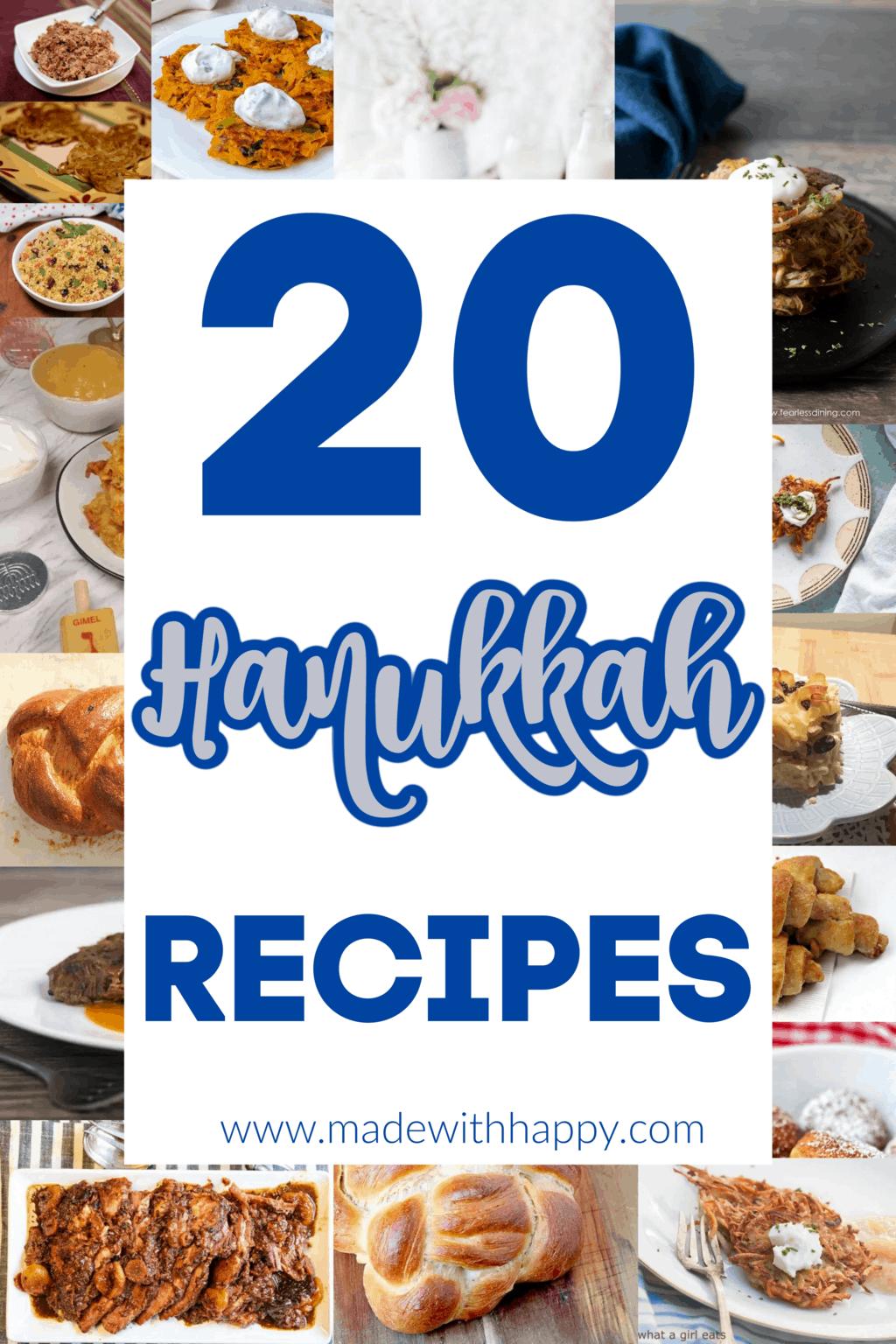 20 Hanukkah Recipes Ideas