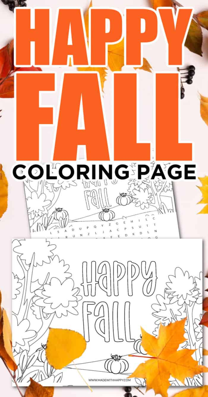 Happy Fall Image
