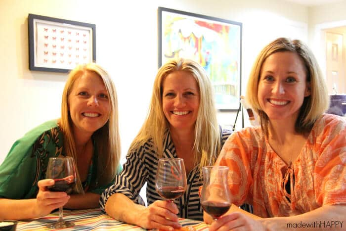 Middle Sister Wine | Happy Girls Wine CLub | Fun Wine Club descriptors and girls night fun.
